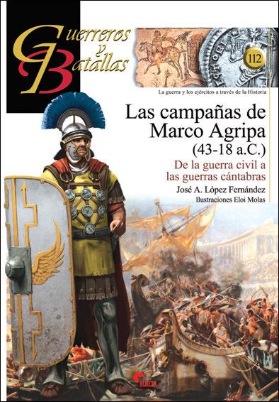 GB 112 Las Campañas de Marco Agripa (43-18 a.C)