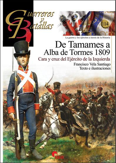 GB114 De Tamames a Alba de Tormes 1809